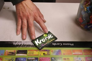 All synthetic cannabis products including Kronic will have to be taken off shelves by next week. Photo / Bevan Conley