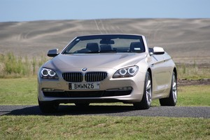 The BMW 650i. Photo / Supplied
