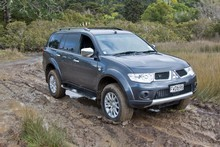 Mitsubishi Challenger GLS. Photo / Supplied