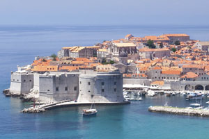 Dubrovnik's Old Town is wrapped in 2km of majestic medieval walls. Photo / Thinkstock