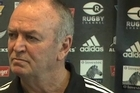 All Blacks coach Graham Henry discusses his expectations for the New Zealand side in the upcoming match against South Africa and also reveals the line up for the squad.