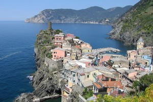 Vernazza, one of the five villages that make up Cinque Terre in Italy. Photo / Thinkstock