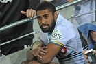 Michael Jennings of the Panthers has been given his final warning by the club. Photo / Getty Images