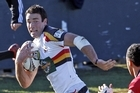 Richard Kahui runs in to score a try for Waikato. Photo / Getty Images
