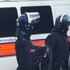 Riot Police blocking Peckham High Street. Photo / Willy Flockton