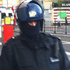 A police officer in riot gear. Photo / Willy Flockton