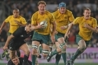 Scott Higginbotham of the Wallabies. Photo / Getty  Images
