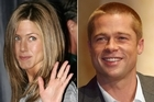 Jennifer Aniston (L) allegedly became suspicious of the relationship between her then-husband Brad Pitt (R) and Angelina Jolie during filming of the movie 'Mr and Mrs Smith'. Photos / Getty Images