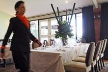 TriBeCa offers true New Zealand destination dining with New York style. Photo / Doug Sherring