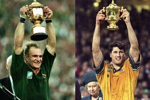 South Africa lifted the Cup in their first appearance in 1995 before Australia became the first nation to win it twice. Photo / Getty Images/AllSport