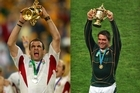 England captain Martin Johnson lifted the World Cup in 2003, followed by Springboks skipper John Smit four years later. Photo / Getty Images