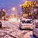 Snow in Newlands, Wellington. Photo / Phyo Thu
