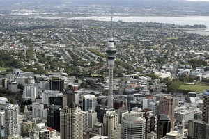 Auckland was the 43 most expensive city in the world two years ago, but is now the 24th, says Swiss bank UBS. Photo / Herald on Sunday