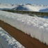 Thick snow rests outside an nzherald.co.nz reader's home in Maraetotara, Hawke's Bay. Photo / Rachael Campbell