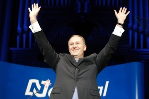 Prime Minister John Key after his speech to the National Party conference in Wellington. Will the new benefit rules be applied to the old and the young? Photo / Mark Mitchell