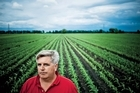 For investors such as Perry Vieth, farmland offers a respite from the wild swings of commodity prices. Photo / Bloomberg