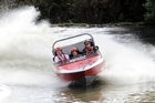 The Agrojet ride at Rotorua's Agroventures is a thrilling experience, with boats reaching speeds of up to 100km/h. Photo / Supplied