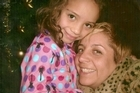 Valentina and her mother, Abril, who drove the truck in which she and Liz died. Photo / Supplied