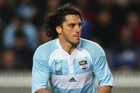 Argentina's captain Agustin Pichot would take quick taps when least expected. Photo / Getty Images