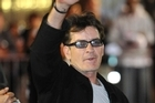 Charlie Sheen took the abuse as a good sign. Photo / AP