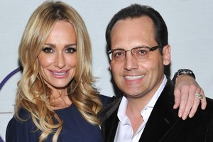 Russell Armstrong with estranged wife 'Real Housewives of Beverly Hills' star Taylor Armstrong. Photo / AP