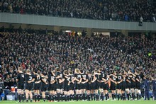 The All Blacks. Photo / Paul Estcourt