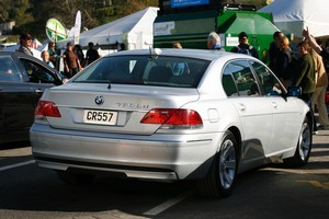 Thirty-four BMWs like this one, which was used by Helen Clark, are up for grabs.  File photo / Sarah Ivey