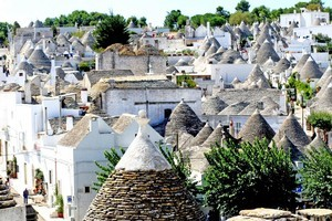 Puglia's famed architectural styles include castles, rustic inns and even beehive-shaped houses. Photo / Supplied