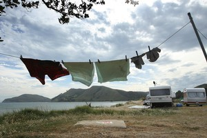 Even preparing to camp in banned areas will be enough to incur a fine. Photo / Supplied