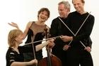 Gillian Ansell, Helene Pohl, Douglas Beilman and Rolf Gjelsten of the New Zealand String Quartet. Photo / Supplied