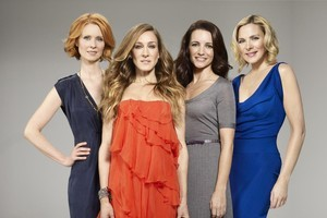 The Sex and the City gals: could they be making a return to the small screen? Photo / Roadshow