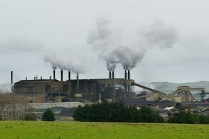 NZ Steel workers are striking for 24 hours at the Glenbrook Steel Mill. File photo / Kenny Rodger