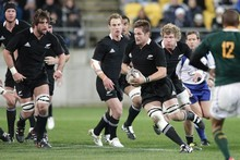 Port Elizabeth with be more of a final Cup tryout than a test for the All Blacks. Photo / Mark Mitchell