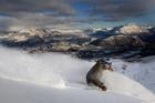 Coronet Peak, where a Christchurch skier took a wrong turn, and had a tough job getting off the mountain. Photo / NZSki