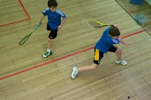 Get warmed up indoors with racquet sports. Photo / File