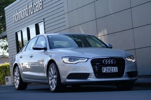 The Audi A6. Photo / Supplied