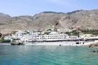 The tranquil vilage of Sfakia, Crete. Photo / Jim Eagles