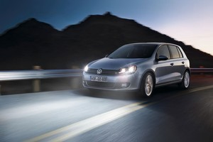 VW's new Golf is expected to have a sportier look than it's predecessor, the Golf Mk VI (above).