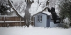 Watch: Life in snow motion