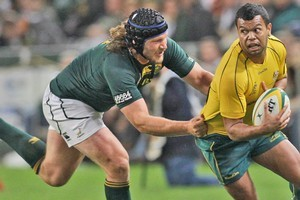 Francois Steyn has been ruled out of Sunday's clash against the All Blacks. Photo / Getty Images