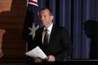 Australian Opposition leader Tony Abbott. Photo / Getty Images