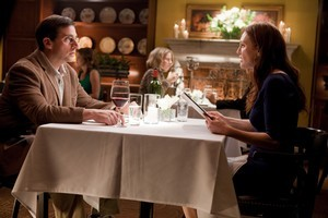 Steve Carell and Julianne Moore do their best with the quietly amusing script of Crazy, Stupid Love. Photo / Supplied