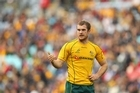 The Wallabies' Pat McCabe says things are becoming more instinctive. Photo / Getty Images