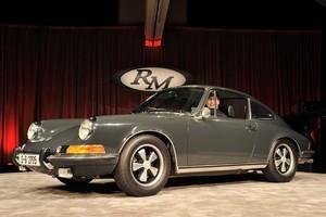 McQueen's 1970 Porsche 911S. Photo / Supplied