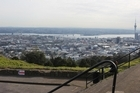 Commercial tourist operators have free access to Mt Eden. Photo / Greg Bowker
