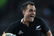 All Black Israel Dagg during the most recent match between the Springboks and New Zealand. Photo / Getty Images