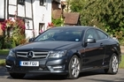 The C-Class Coupe imparts a whiff of sporting appeal which the sensible sedan lacks. Photo / Jacqui Madelin