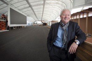 Michael Barnett is confident the Cloud on Queen's Wharf will help businesses win exports after the World Cup. Photo / Natalie Slade
