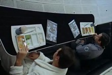 2001: A Space Odyssey shows men with screens similar to iPads. Photo / Supplied