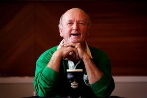 Irishman Tom Buckley likes a pint. Photo / Janna Dixon